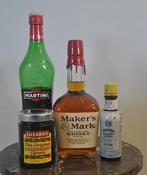 bourbon manhattan drink