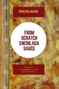 enchilada sauce recipe