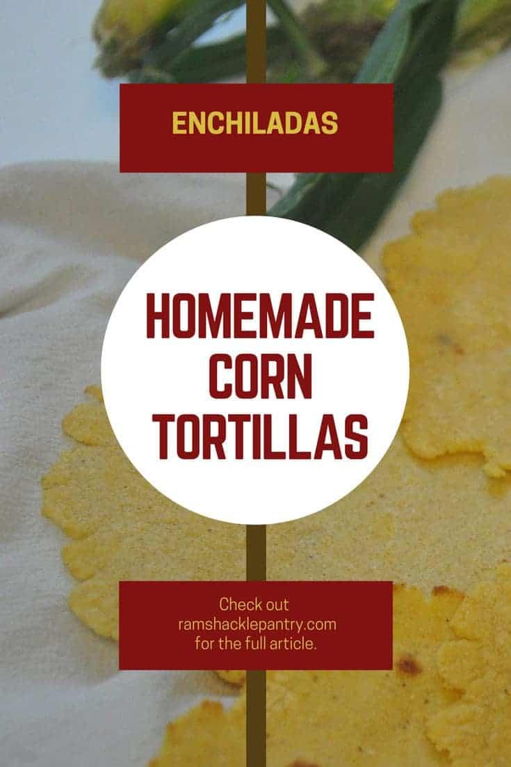 homemade corn tortillas pinterest