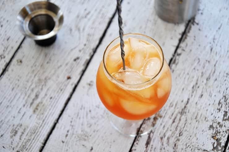 Stirring Gin and Tonic