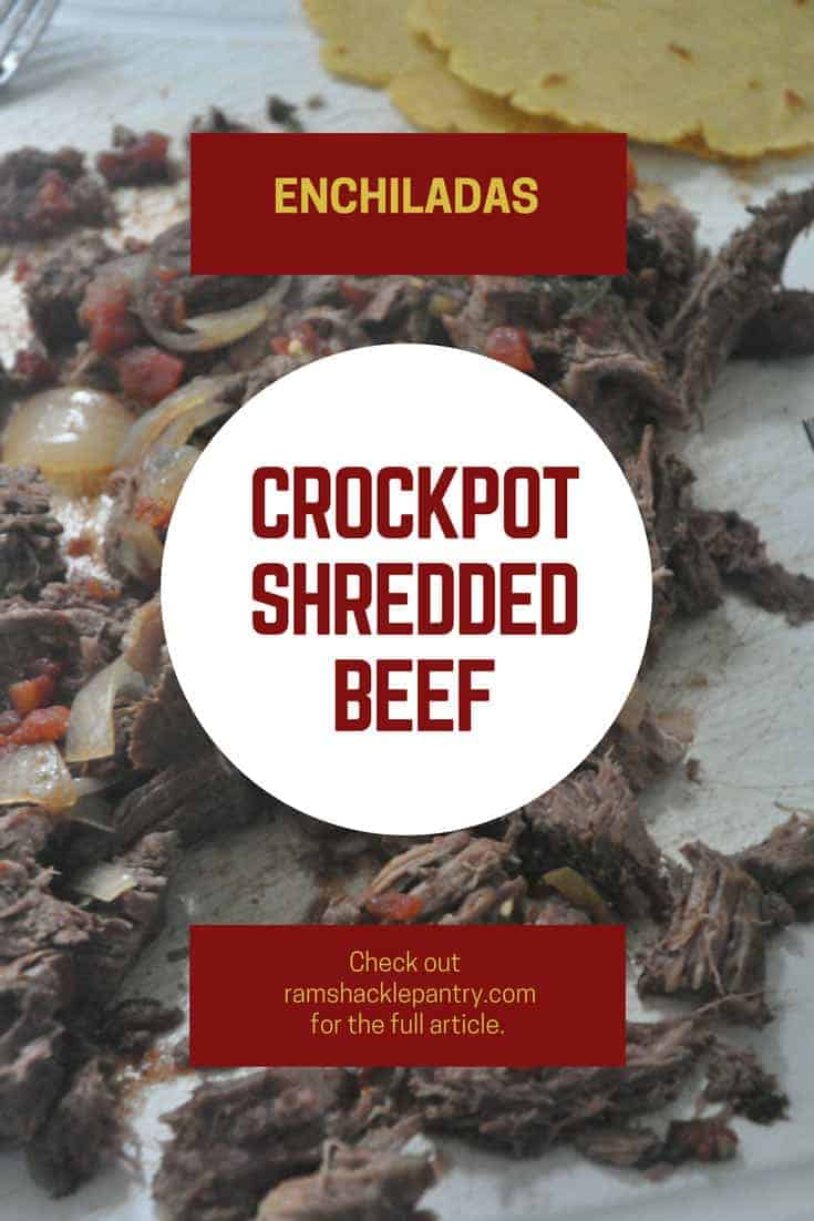 crockpot shredded beef pinterest image