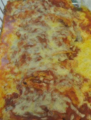 completed enchilada