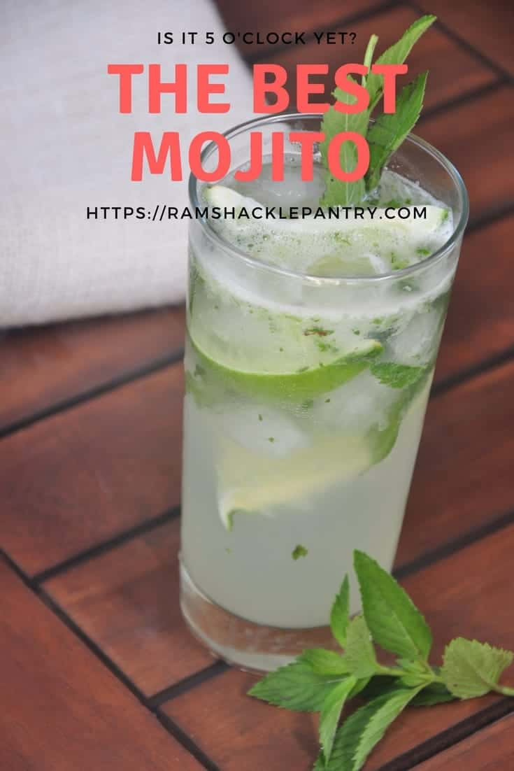 Just using sugar, lime, mint, soda water and, of course, rum.... you can bring the tropics to you. This traditional Mojito drink will knock your socks off.