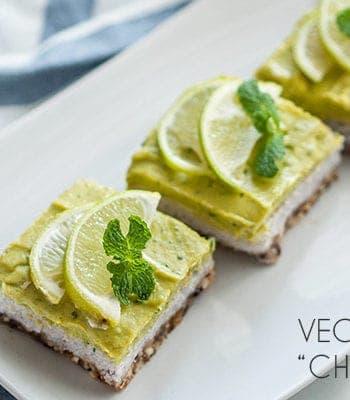 vegan mojito cheesecake