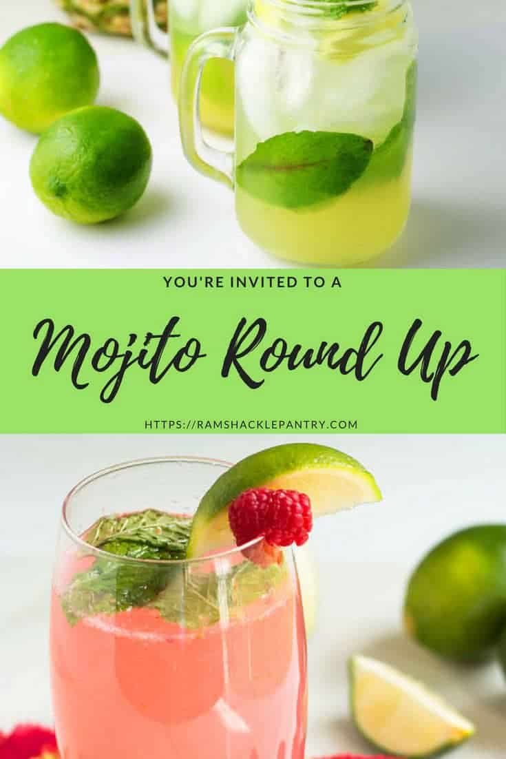 mojito cocktail round up with recipes from around the web