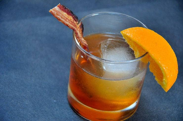 bacon maple old fashioned