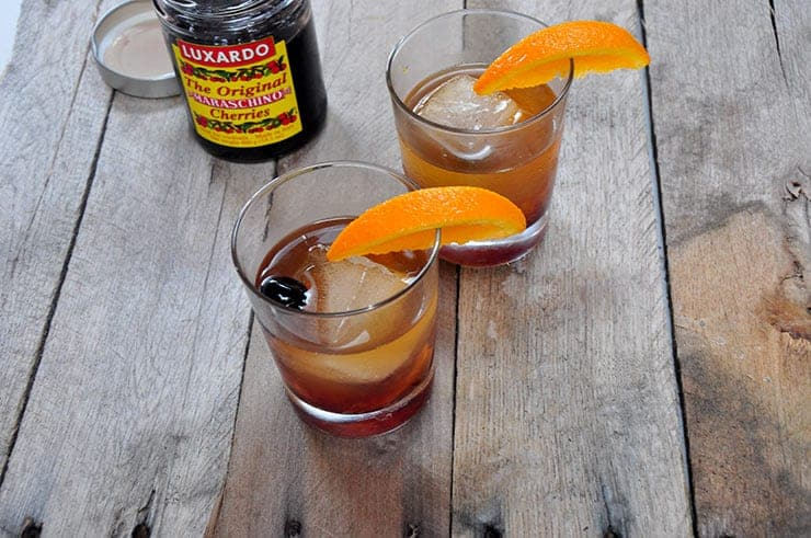 picture of the Mad Men Old Fashioned
