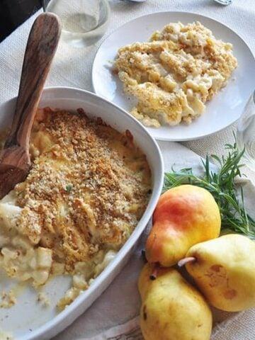 pear and gouda macaroni and cheese recipe