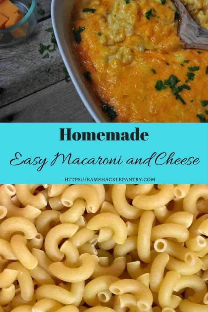 This easy, homemade macaroni and cheese recipe is sure to delight. All you need is a few ingredients you probably have at home and a little bit of time.