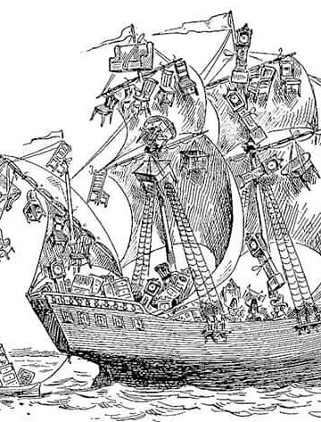 The history of cheese includes the Mayflower