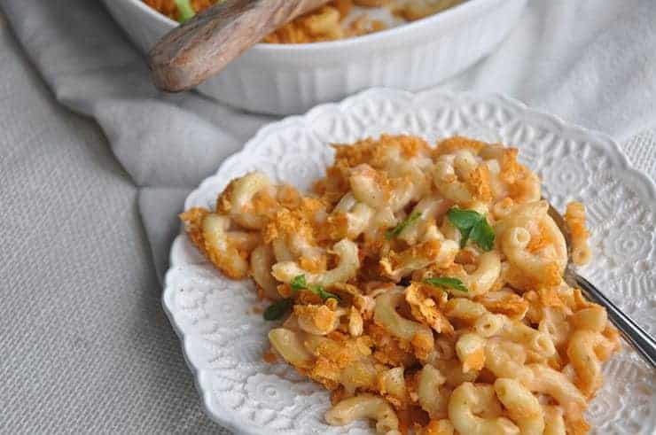 Dished Blue Cheese Macaroni Recipe
