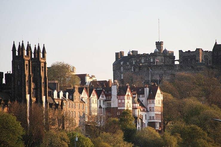 Hot toddy history and Edinburgh