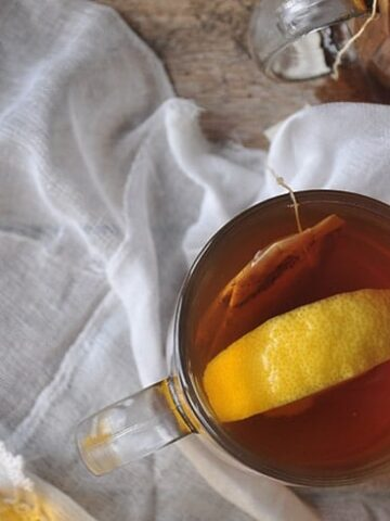 How to make a hot toddy - finished picture