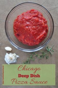 Chicago Deep Dish Sauce