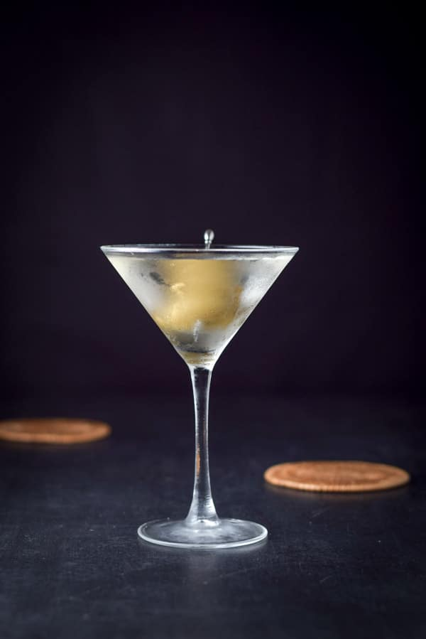 Dirty Vodka Martini as part of our vodka drinks post
