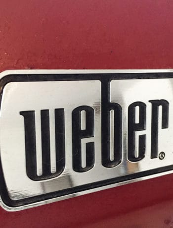 Weber grill plate from my Weber Genesis