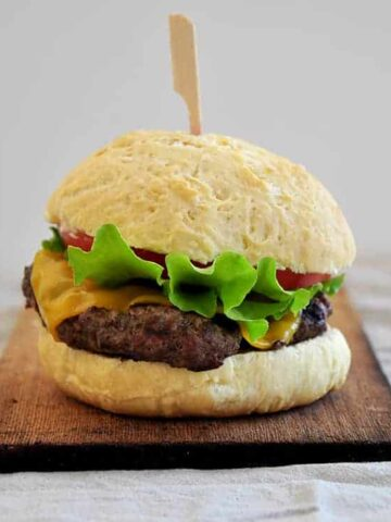 Make your own Sirloin Burger