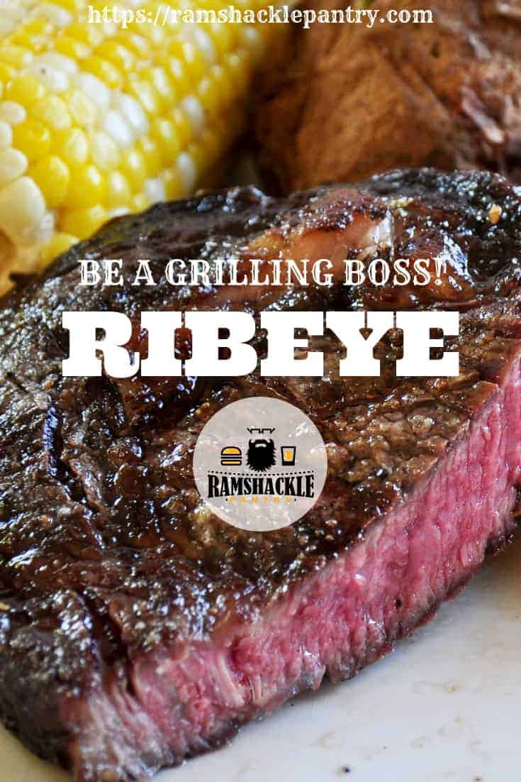 Do you want to be a backyard superhero? Well, learn how to grill a steak like a boss! Grilling is seriously fun and making a great steak is one way to show off your grilling skills. #steak #grill #ribeye #grilling #weber #fathersday