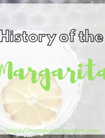 """History of the Margarita"" - Margarita History"