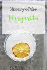 """History of the Margarita"""