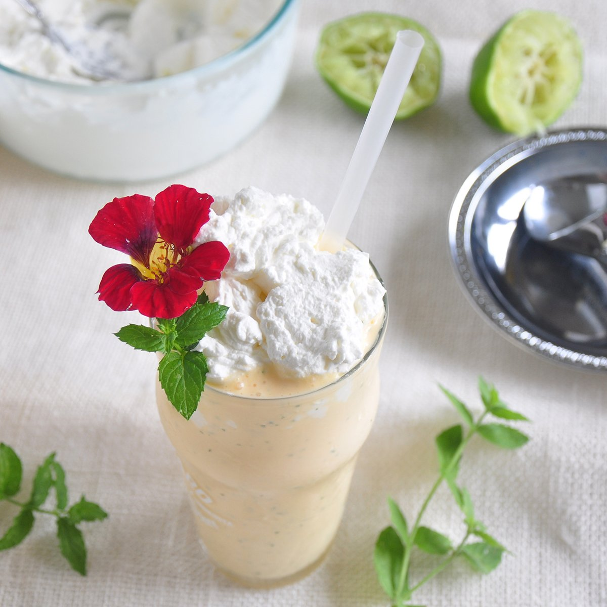 The Mojitarita Milkshake - a mint margarita dessert
