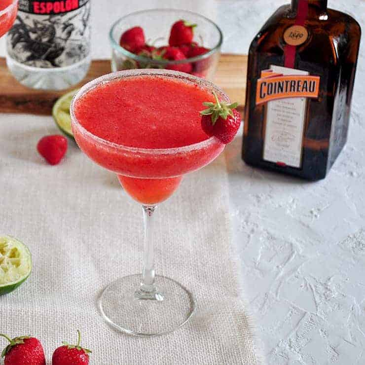 The Best Frozen Strawberry Margarita Ramshackle Pantry