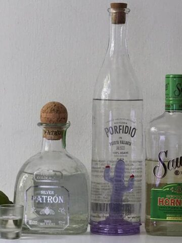 A picture of some good tequila