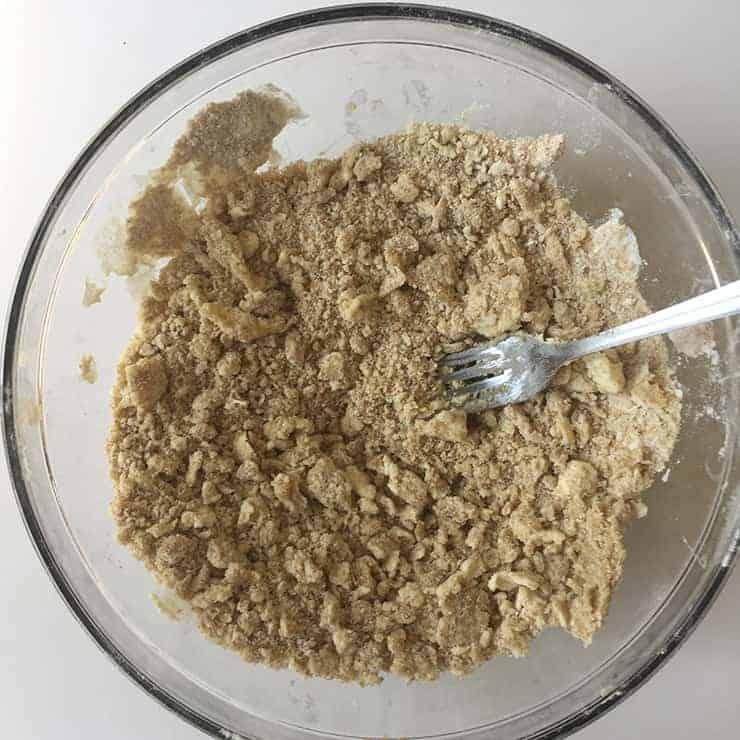 Mixed Streusel for Dutch Apple Pie recipe