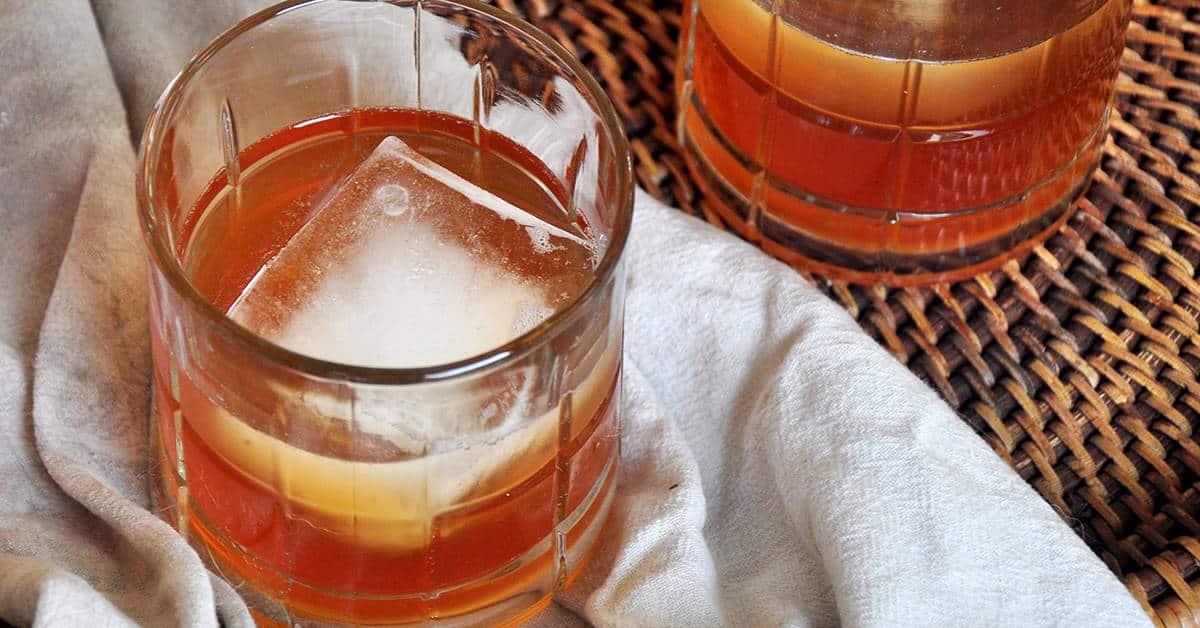 Holiday Homemade Apple Brandy