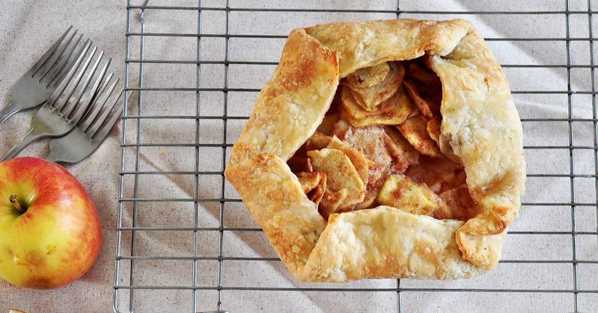 Rustic Apple Crostata Recipe