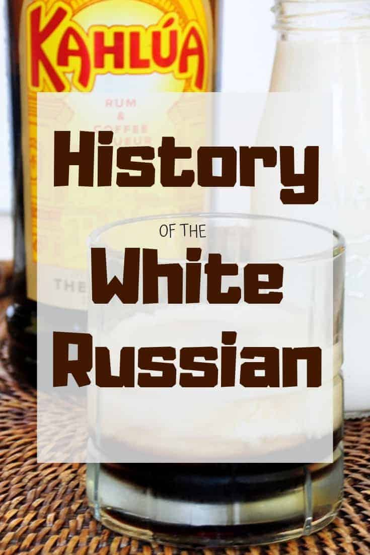 The history of the classic cocktail, the White Russian, really is something special. It is interesting and reaches across the entire globe. #ramshacklepantry #whiterussian #cocktailhistory
