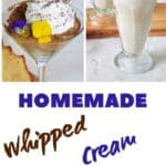"""homemade whipped cream"""