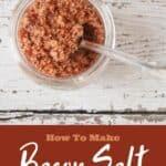 """How To Make Bacon Salt"""