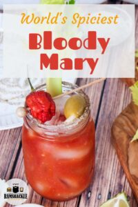 World spiciest bloody mary