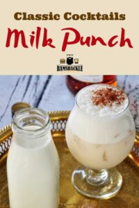Classic Cocktail Milk Punch