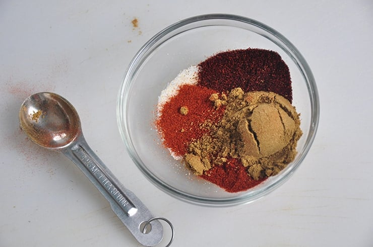 Spices Added to Meat for Coney Sauce