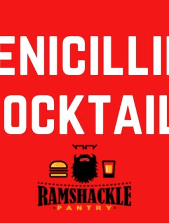 """Penicillin Cocktail"" with a logo"