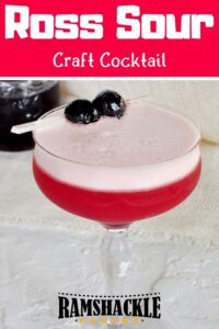 Sam Ross Sour Cocktail