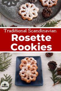 Traditional Scandinavian Rosette Cookies