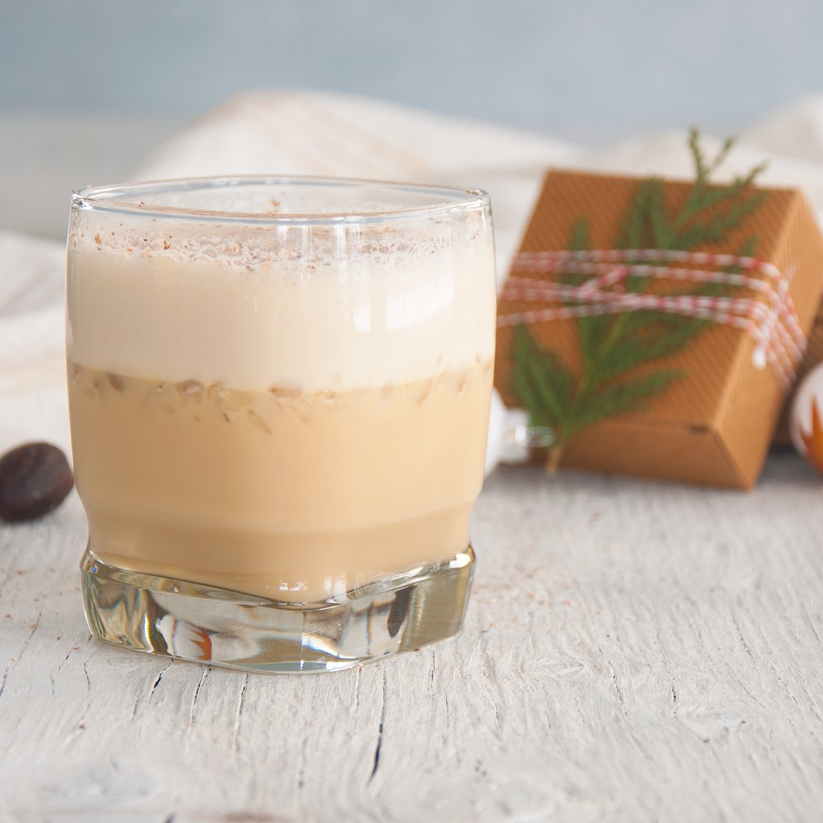 Kahlua Spiked Eggnog Recipe featured image