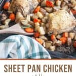 Sheet Pan Italian Baked Chicken Thigh