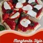 Margarita Style Grilled Pizza